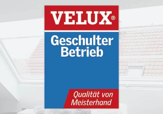Velux-Partner - Geschulter Betrieb